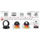 ARIETE - Staubdichtungen ARISEAL Typ ARI.A010 kompatibel Rock Shox 35mm (Boxxer)